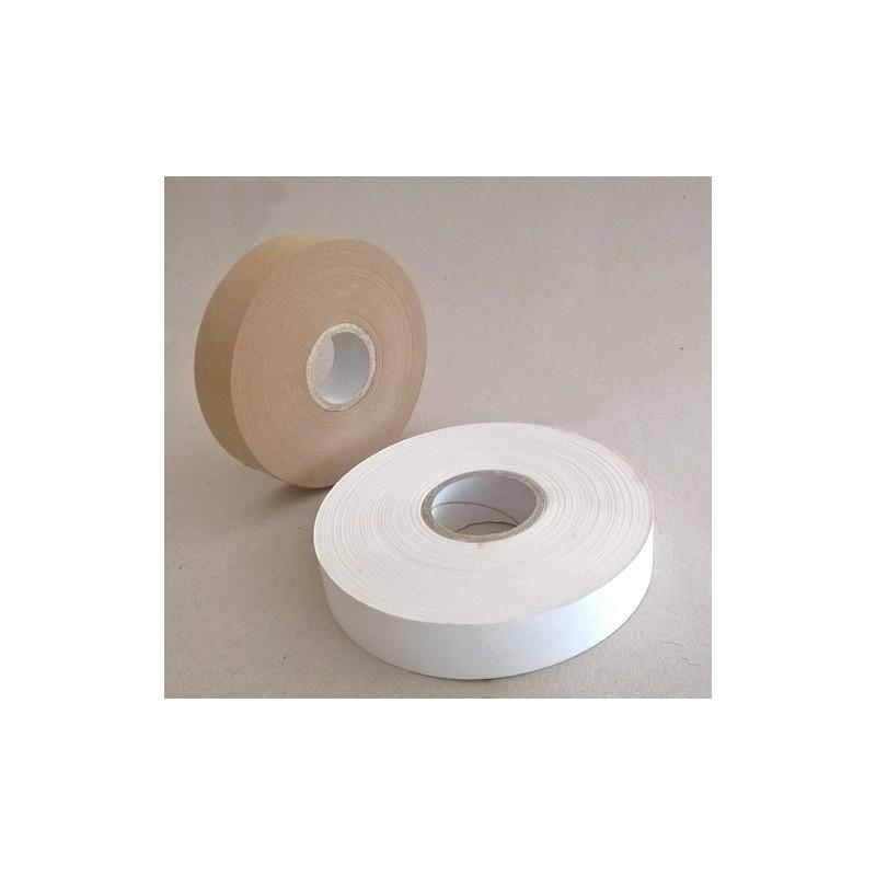Banderolierband Papier weiß - 29 mm